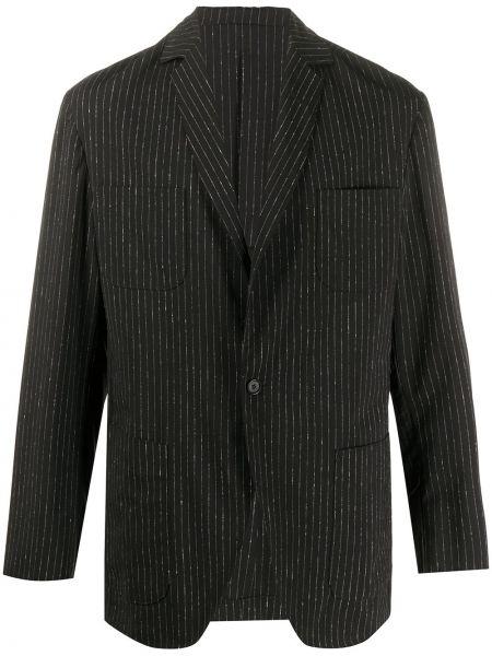Пиджак с заплатками на пуговицах с манжетами металлический Jil Sander Pre-owned