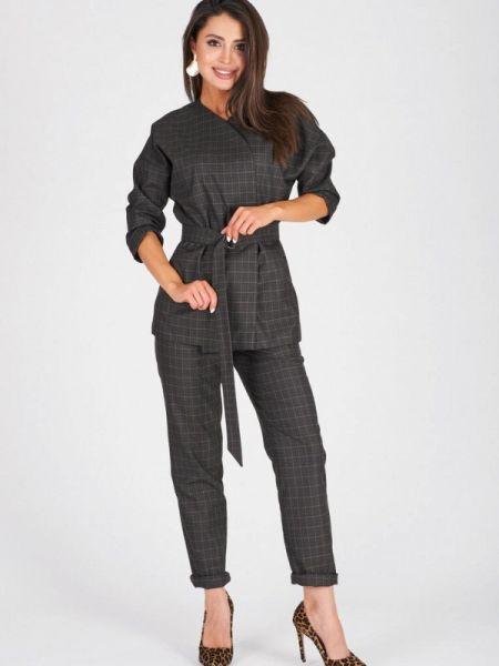 Брючный костюм серый Eliseeva Olesya