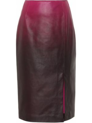 Кожаная юбка - розовая Dorothee Schumacher