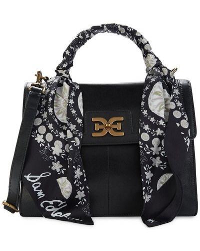 Черный кожаный ранец с карманами Sam Edelman