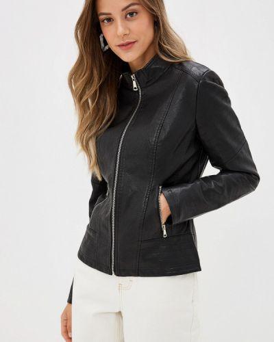 Кожаная куртка - черная Shelter