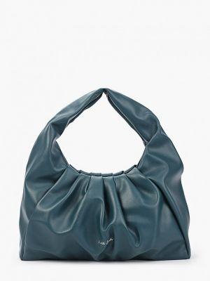 Кожаная сумка - бирюзовая Keddo