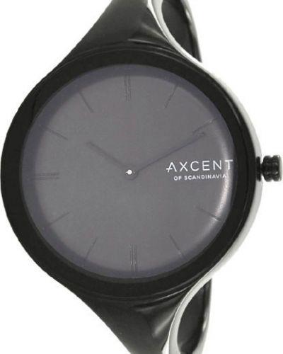 Водонепроницаемые часы черные кварцевые Axcent Of Scandinavia