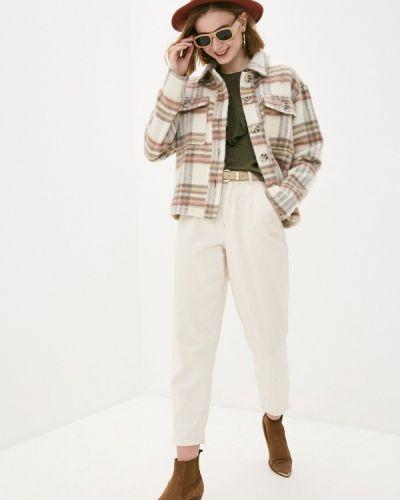 Бежевое пальто Jacqueline De Yong