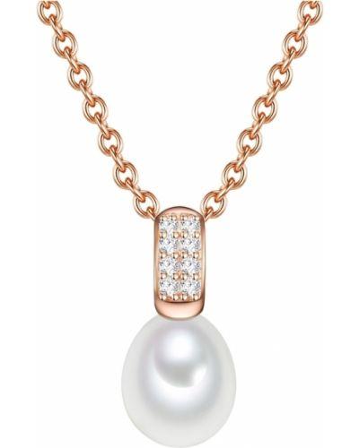 Naszyjnik z pereł - różowy Valero Pearls