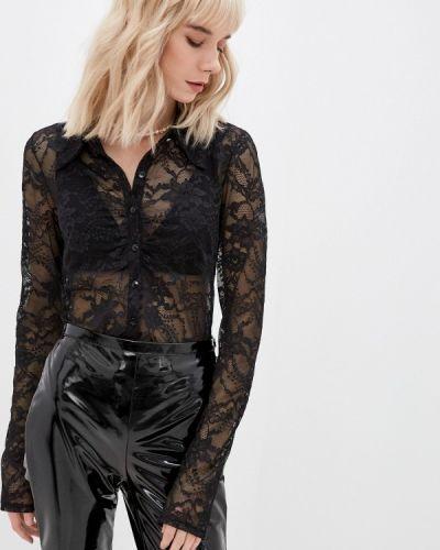 Кружевная блузка - черная Patrizia Pepe