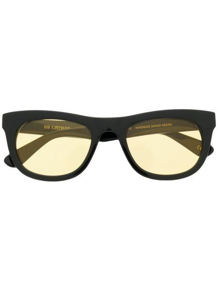 Муслиновые черные солнцезащитные очки круглые Han Kjøbenhavn