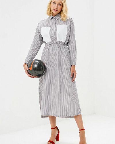 Платье серое Pepen