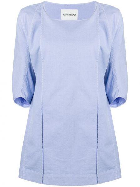 Платье синее платье-солнце Henrik Vibskov