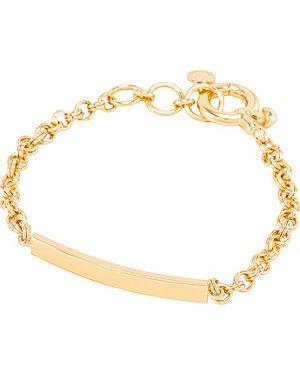 Złota bransoletka ze złota pozłacana na co dzień Gorjana