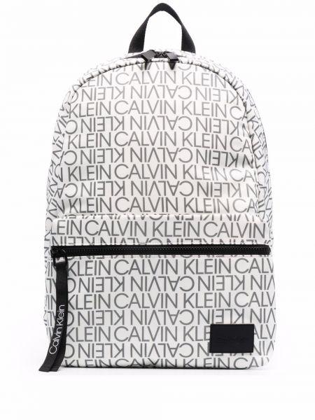 Biały plecak Calvin Klein