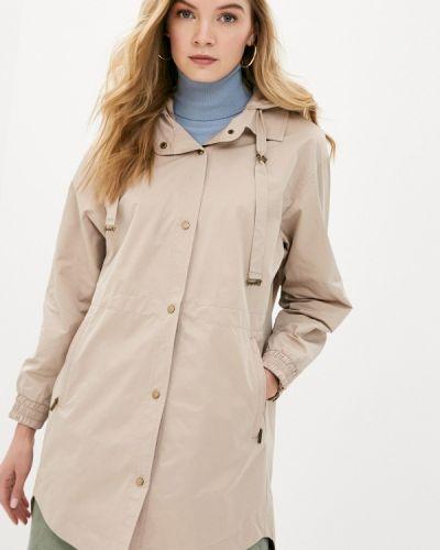 Облегченная бежевая куртка D`imma