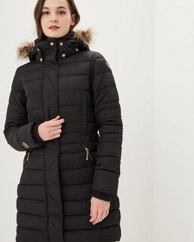 Утепленная куртка черная весенняя Icepeak