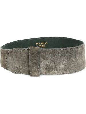 Широкий ремень винтажный свободного кроя Alaïa Pre-owned