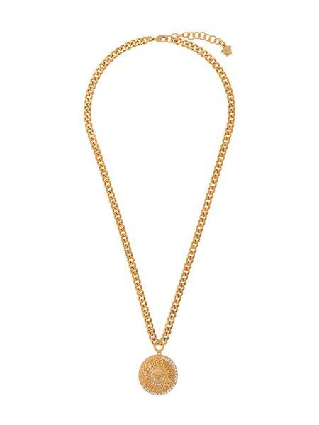 Цепочка золотая с подвесками Versace