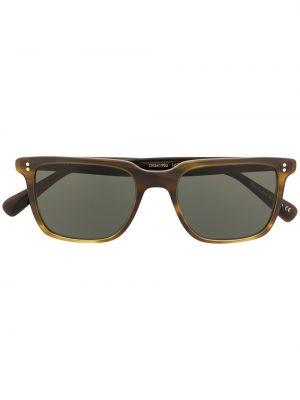 Солнцезащитные очки зеленый Oliver Peoples