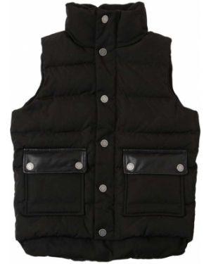 Czarna kurtka puchowa z nylonu Zadig&voltaire