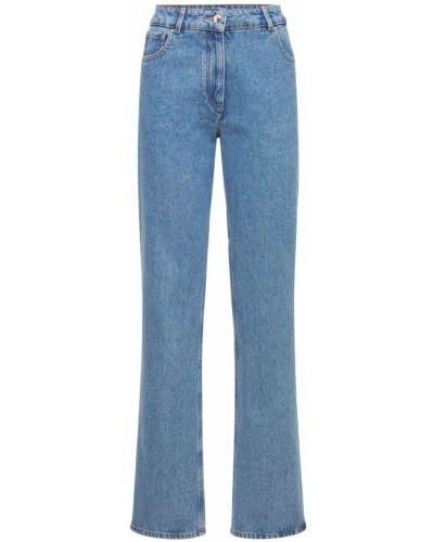 Синие джинсовые джинсы Nina Ricci