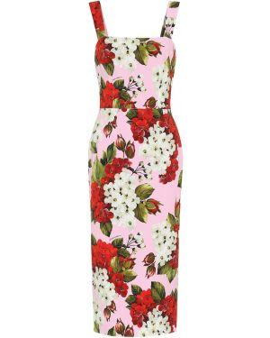 Платье миди футляр облегающее Dolce & Gabbana