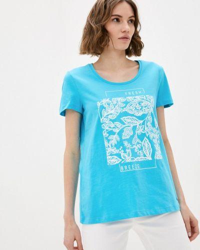 Бирюзовая футболка Taifun