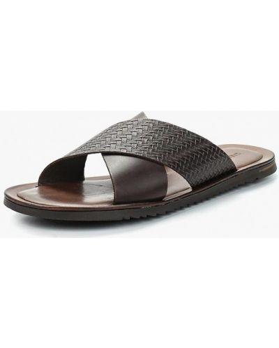 Коричневые сандалии кожаные Salamander