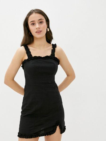 Платье прямое черное Befree