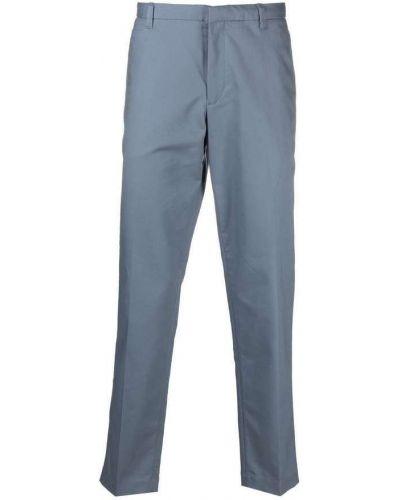 Szare spodnie eleganckie Emporio Armani