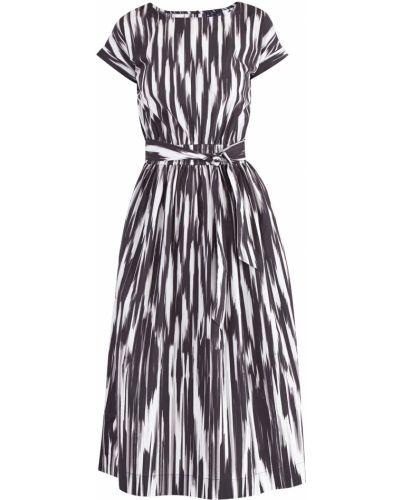 Платье миди с поясом винтажная Woolrich
