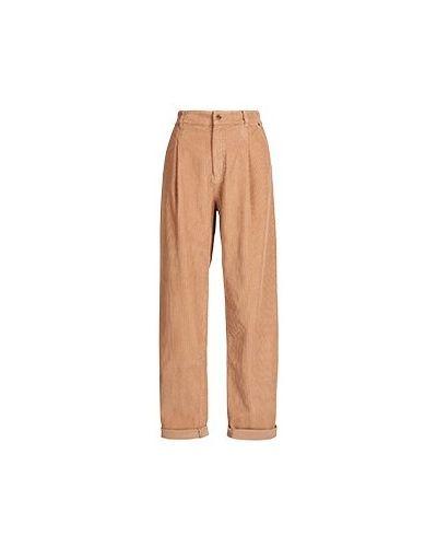 Прямые брюки - коричневые Essentiel