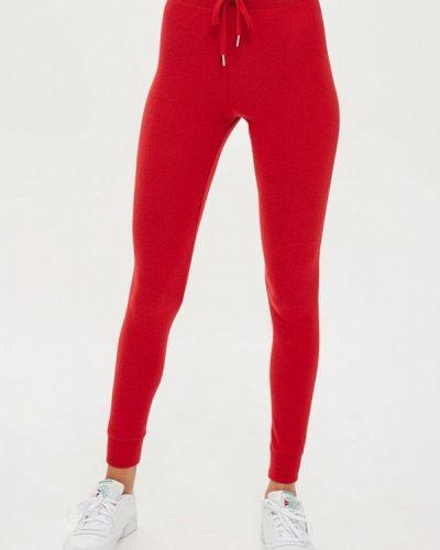Красные спортивные брюки Topshop