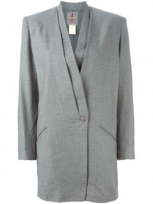 Пиджак на пуговицах винтажный Issey Miyake Pre-owned