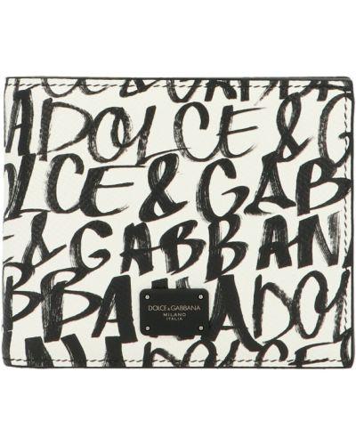 Portfel - biały Dolce And Gabbana