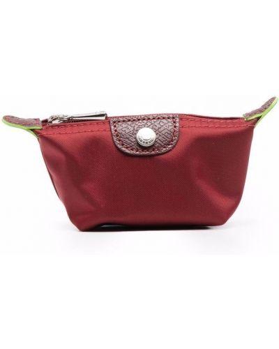 Кошелек на молнии - красный Longchamp