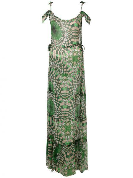 Платье мини макси с открытыми плечами Amir Slama