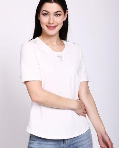 Белая футболка хлопковая Thomas Rabe