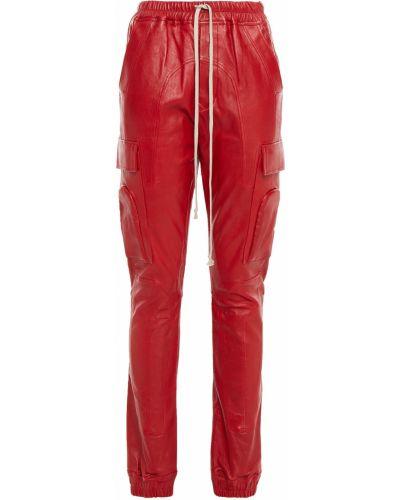 Spodnie skorzane Rick Owens