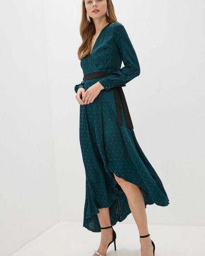 Платье с запахом осеннее Little Mistress
