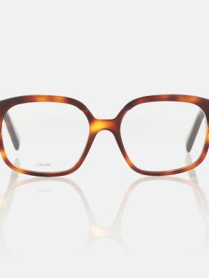 Повседневные очки для зрения - коричневые Celine Eyewear