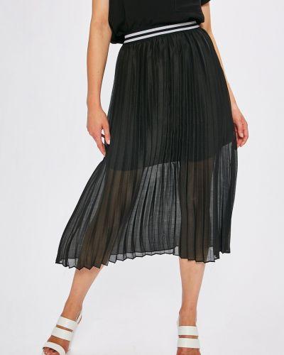 Плиссированная юбка миди с завышенной талией Answear