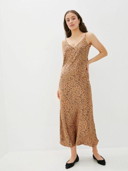 Платье - коричневое Clabin