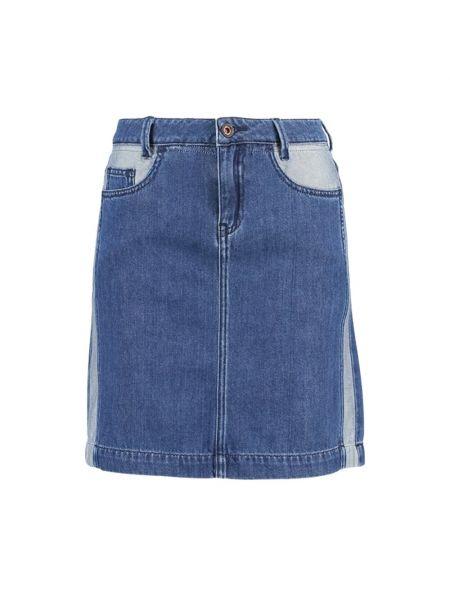 Niebieska spódniczka mini Denham
