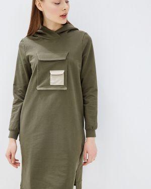 Платье платье-толстовка осеннее Tantino