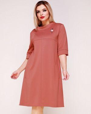 Вечернее платье платье-сарафан с манжетами Ellcora