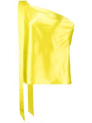 Топ с открытыми плечами - желтый Michelle Mason