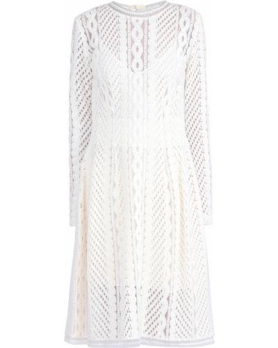 Платье с воротником шерстяное Ermanno Scervino
