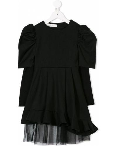 Платье из фатина черное Nostra Santissima Kids