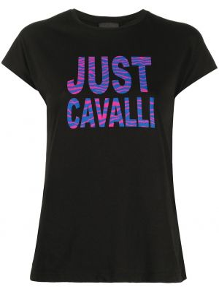 Топ облегающий черный Just Cavalli
