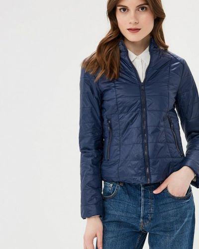 Утепленная куртка - синяя Sh