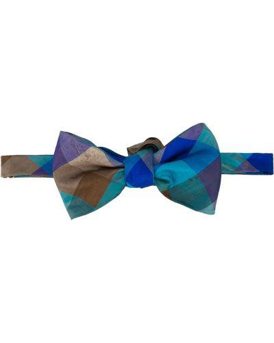 Шелковый галстук-бабочка винтажный с бабочкой Missoni Pre-owned
