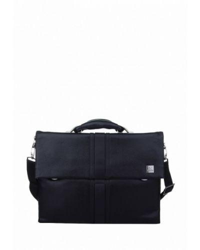 Портфель черный Luxon